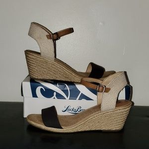 💚 lucky brand wedge sandal